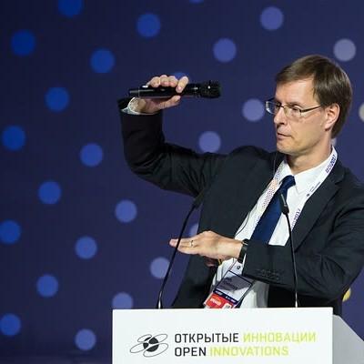Karl Schroeder in Moscow, 2017