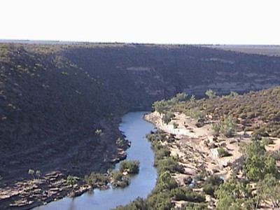 Murcheson river canyon