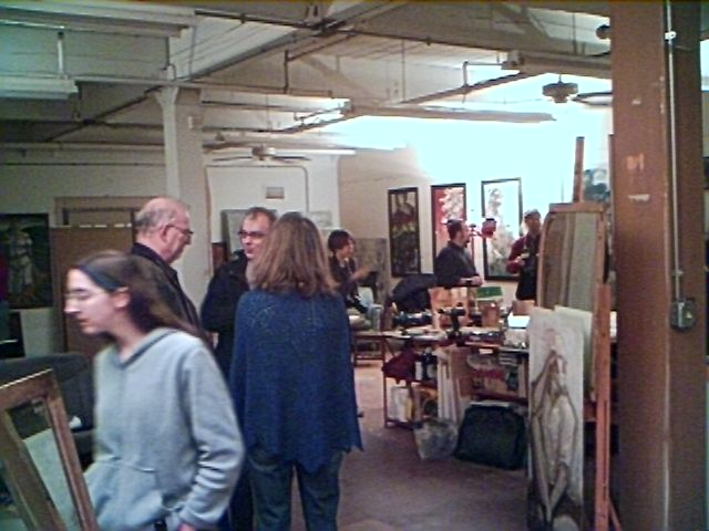 Rick Berry studio Feb16 2009