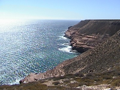 Cliffs at Kalbarri
