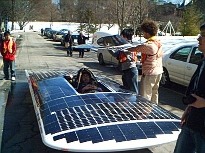 Scibarcamp solar car