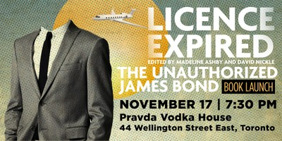 License Expired Book Launch